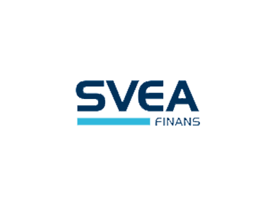 Svea Finans AS' logo.